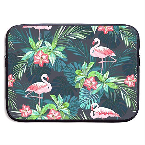 Bright Flamingos Laptop Sleeve Case Bag Cover for Apple MacBook/Asus/Acer/Samsung/DELL/HP/Lenovo/Sony/RCA Computer 13 -