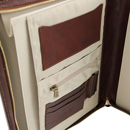 81412944 - TUSCANY LEATHER: Ottavio - Porte-document en cuir, marron