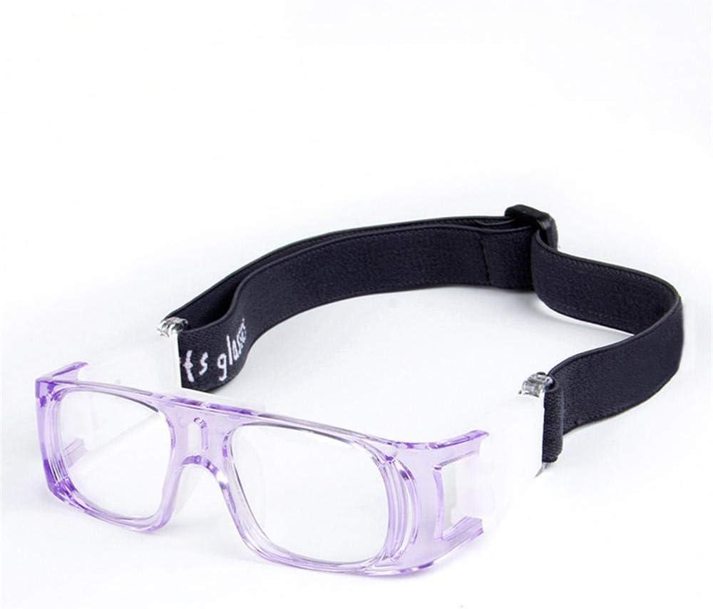 Uteruik Gafas Protectoras para Gafas de Baloncesto Gafas Protectoras para Deportes de fútbol Eyeguard Protector para niños, Talla única (Estilo - A)