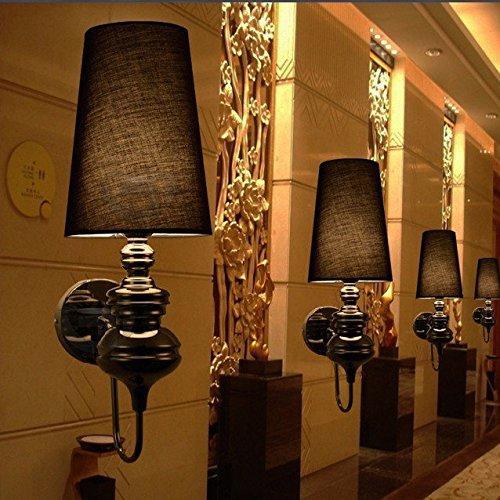 Anbiratlesn Modern Wandleuchten E27 Antik Wandlampe Vintage Rustikal Wandlampe für Schlafzimmer Wohnzimmer Bar Flur Badezimmer Küche Balkon Innen Lampe Hotel Gang Bettseite Studie Villa Wandleuchte