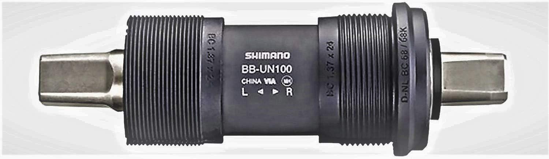 Shimano Altus BBUN100B23X - Jgo.Pedalier Un-100 Cuadrad., 68X122.5 ...