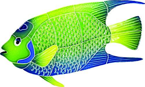 Artistry in Mosaics Queen Angel Fish Ceramic Swimming Pool Mosaic (7