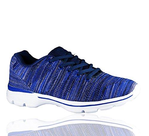 Mode Femme Romaan's Ideal Baskets Bleu Pour Fashion wtTtqB