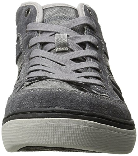 Skechers Palen Nando Relaxed Fit Mens Hi Top Sneakers/Shoes Gray jS9OPUEC