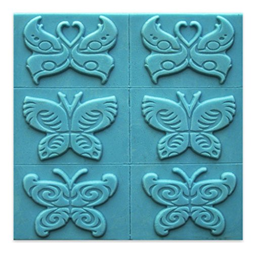 Milky Way Butterfly Soap Mold Tray - Melt and Pour - Cold Process - Clear PVC - Not Silicone - MW 262