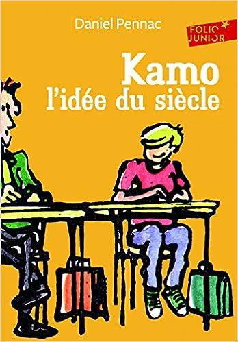 Le livre que les élèves entrant en sixième doivent lire pendant les vacances : Kamo, l'idée du siècle, de Daniel Pennac.