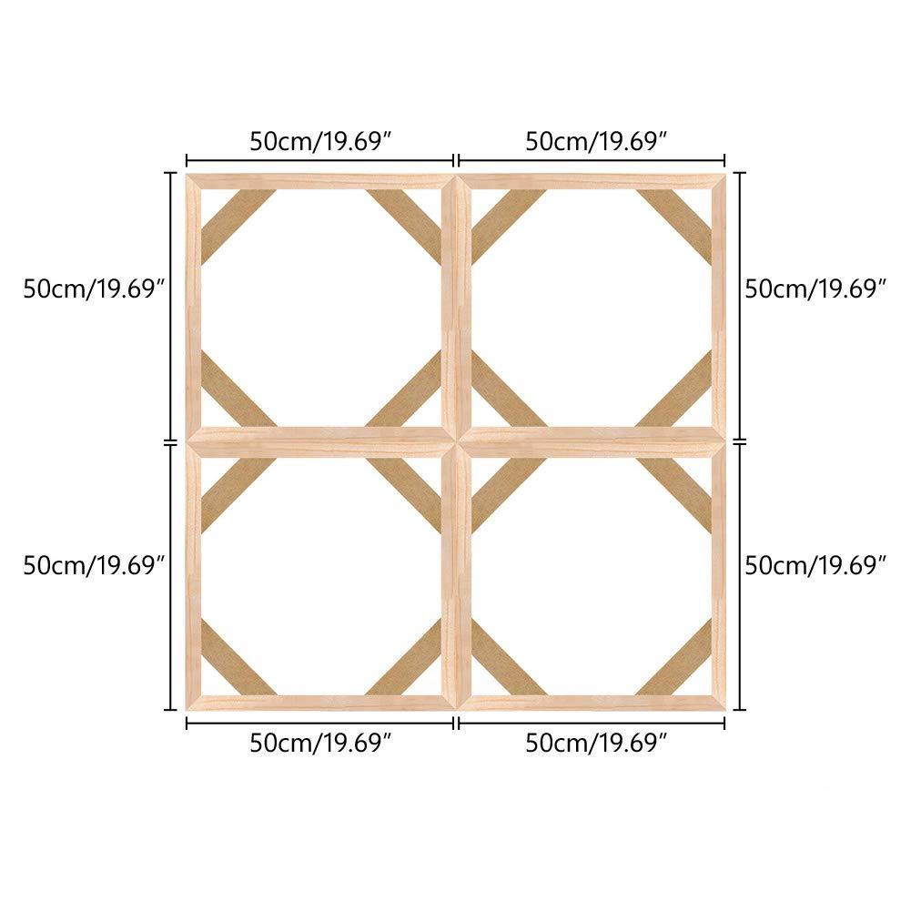 40x80cm Canvas Stretcher Bars Frame,Framed Picture Accessories,Wood Canvas Frame Kit,DIY Art Canvas Frames 16x32 Inch