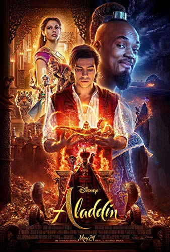 Movie Poster: Aladdin 2019 Posters and Prints Unframed Wall Art Gifts 12x18