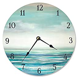 Stupell Industries Serene Waters Vanity Clock, Proudly Made in USA