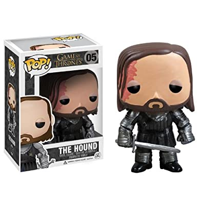 Funko POP Game of Thrones: The Hound Vinyl Figure: Funko Pop! Television:: Toys & Games