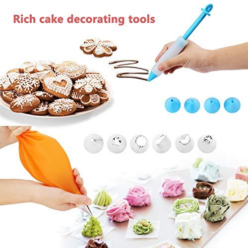 Kids Cupcake Baking Supplies Cake Decorating Kit,Perfect Girls Beginners Teenagers