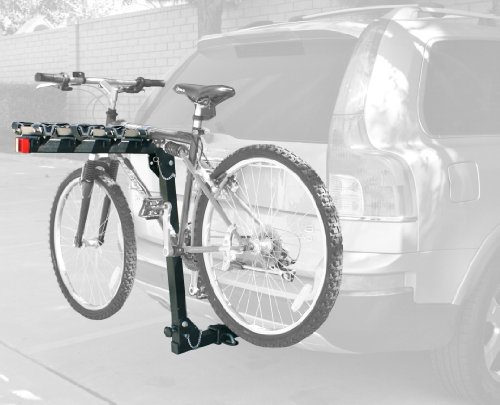 MaxxHaul (70210) 4-Bike Deluxe Hitch Mount Rack (Bike Hitch Towing Racks)