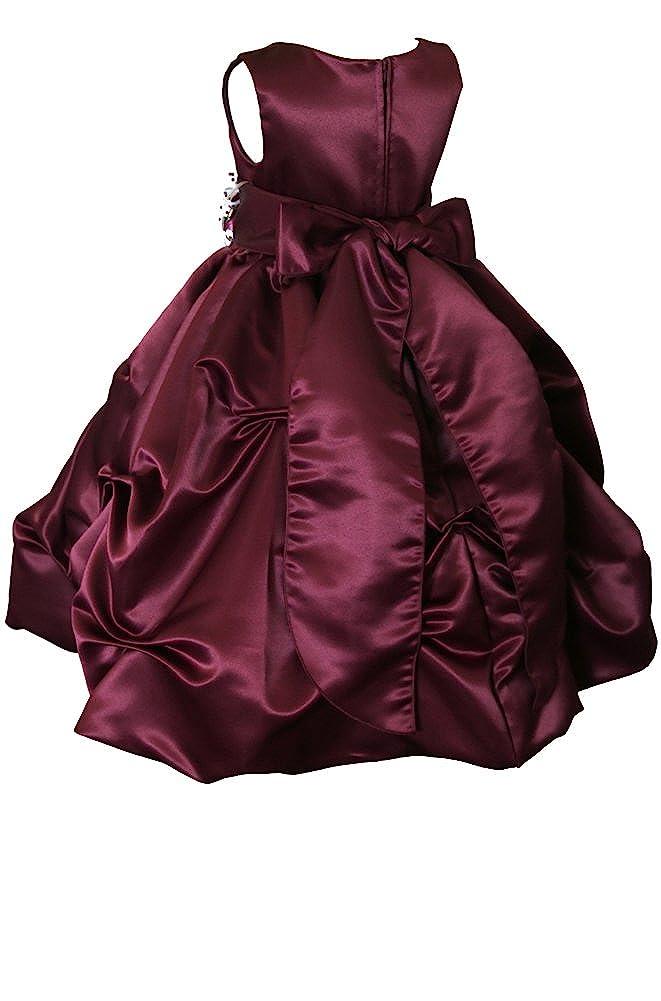 0d26e5787e6 Amazon.com: AMJ Dresses Inc Little/Big Girls Wedding Holiday Pageant Flower  Girl Birthday Party Dress: Clothing