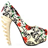 Show Story Cute Sexy Romantic Fashion Gift For Her Pumps,LF80610BG40,9US,Beige