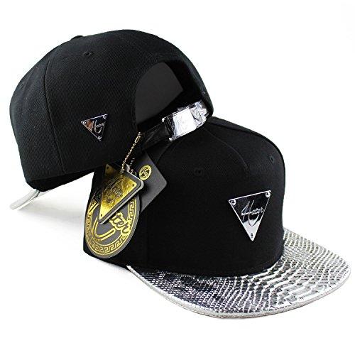 Hater Silver Snakeskin Strapback - Life Hat Quiet