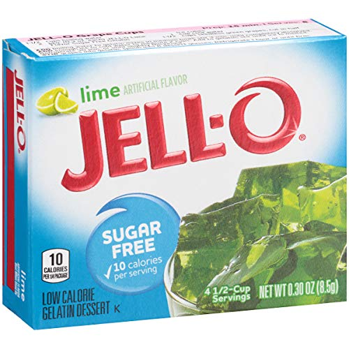 Jell-O Sugar-Free Lime Gelatin Dessert Mix, 0.3 oz Box by Jell-O (Image #5)