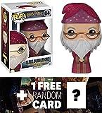 Albus Dumbledore: Funko POP! x Harry Potter Vinyl Figure + 1 FREE Official Harry Potter Trading Card Bundle [58630]
