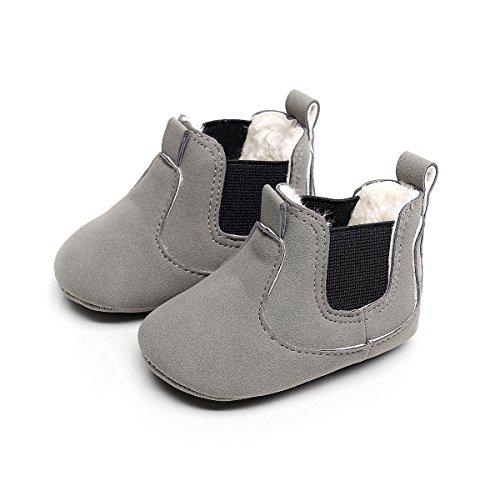 Sabe , Baby Jungen Krabbelschuhe & Puschen wool grey