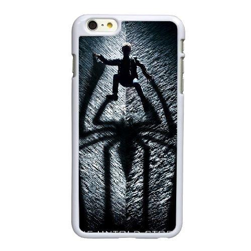 H4Q67 l'amazing spider man A8N7WD coque iPhone 6 Plus de 5,5 pouces cas de téléphone portable couverture de coque blanche IH9QHJ2PO