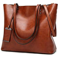 Obosoyo Women Shoulder Tote Satchel Bag Lady Messenger Purse Top Handle Hobo Handbags