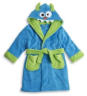 minikidz para niños Azul MONSTER Bata TACTO SUAVE Batas Súper Suave: Amazon.es: Ropa y accesorios