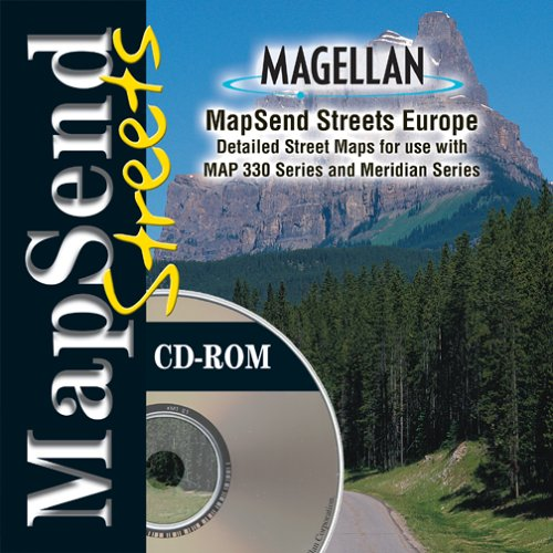 mapsend streets europe
