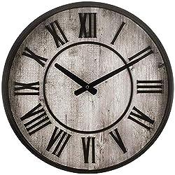 Westclox NYL33975 15 Roman Numeral Wall Clock, Multicolored