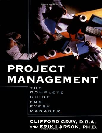 project management larson gray 1st edition pdf