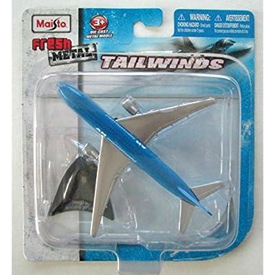 Maisto Tailwinds Boeing 777-200 AM Intercontinental Die-Cast Metal Plane: Toys & Games