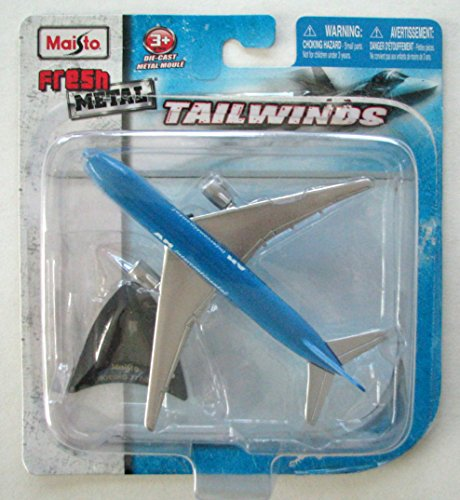 Maisto Tailwinds Boeing 777-200 AM Intercontinental Die-Cast Metal Plane