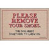 High Cotton Remove Your Shoes Indoor / Outdoor Doormat