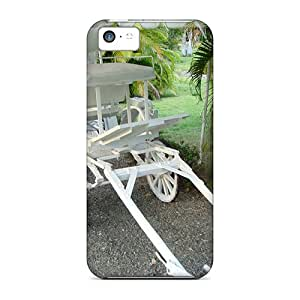 Perfect Fit IOqXe6444XTacy Beautiful White Carriage Case For Iphone - 5c