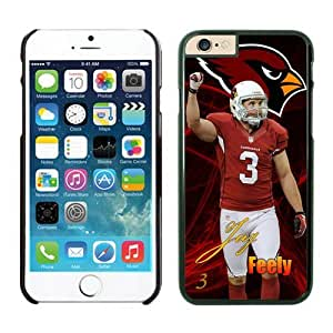 Arizona Cardinals Jay Feely Case For iPhone 6 Plus Black 5.5 inches