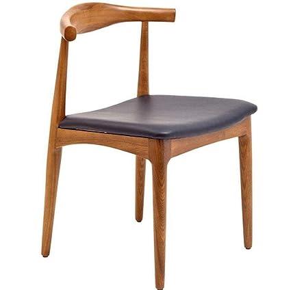 Desconocido Tome un Taburete Nordic Madera Maciza sillas de Cuernos ...