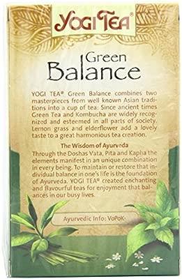 Yogi Tea - Green Balance - 30.6g: Amazon.es: Alimentación y ...