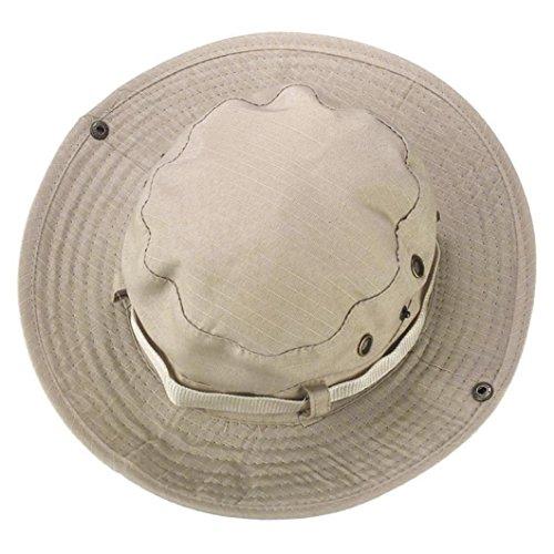 - BEAUTYVAN Cap Vintage Hat Boonie Hunting Fishing Outdoor Wide Brim Military Cap (B)