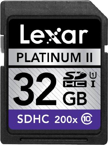 Lexar Platinum II 200 x SDHC UHS-1 Tarjeta de Memoria Flash ...
