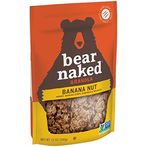 ouches, Go Bananas. Go Nuts!, 12 Ounce (Pack of 6) (Bear Naked Banana Granola)