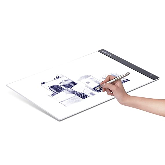 Amazon.com: Aibecy Portable A3 LED Light Box Drawing Tracing Tracer Copy Board Table Pad Panel Copyboard with Memory Function Stepless Brightness Control ...