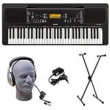Yamaha PSR-E363 PKS 61-Key Premium Keyboard Pack with Stand, Headphones & Power Supply