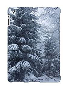 Podiumjiwrp YjGjltw1812xbkcM Case Cover Skin For Ipad 2/3/4 (snowy Pine Trees )/ Nice Case With Appearance