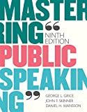 img - for Mastering Public Speaking (9th Edition) book / textbook / text book