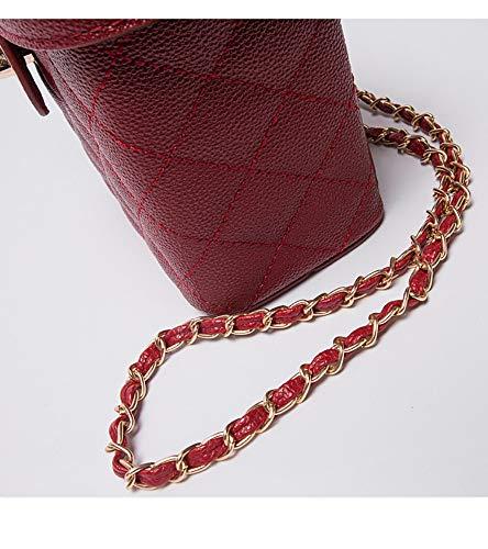 Semplice Crossbody Selvaggia Borsa Hxkb Cosmetico Tracolla Rombico A Femminile Spalla Bag Di Sacchetto Messenger HqggRF
