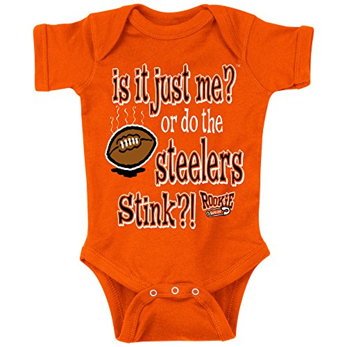 Cincinnati Bengals Baby Clothes - Smack Apparel Cincinnati Football Fans. is It Just Me?! Onesie (6M)