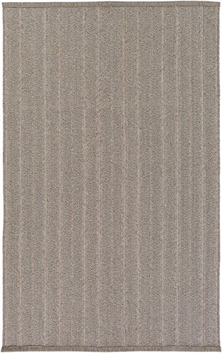 RugPal Solid/Striped Rectangle Area Rug 2'x3' in Oatmeal Color From Tatiana Collection