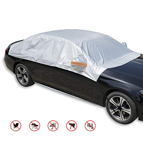 RunSnail Waterdichte Winddichte Vorst Autohoes, Anti UV Half Dikke Autohoes Met Reflecterende Strepen, UV-bescherming…