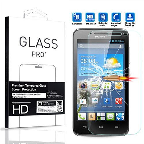 Tempered Glass For Huawei Y511 (Clear) - 5