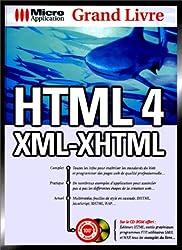 Grand livre HTML, 4-XML-XHTML