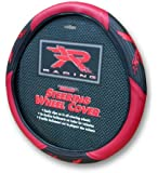 "Red ""R"" Racing Steering Wheel Cover"