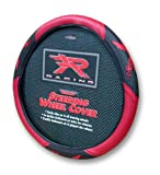 Plasticolor Red R Racing Steering Wheel Cover